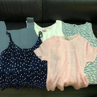 Set top $50 for 6 tops