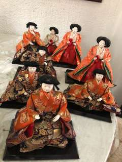 Japanese Palace Court Dolls (Hinamatsuri)