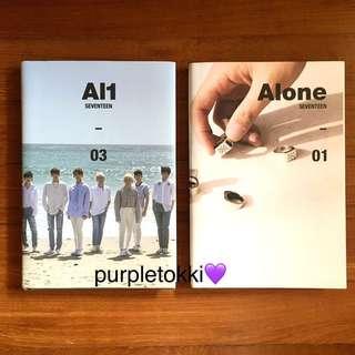 [WTS] Seventeen Al1 albums
