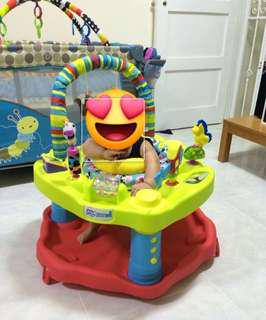 Exersaucer Bounce & Learn Zoo friends