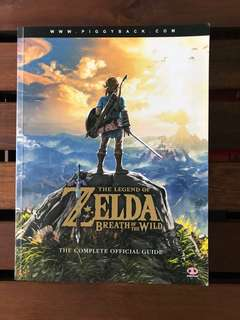 Zelda: Breath of the Wild Official Guide Book (Switch)