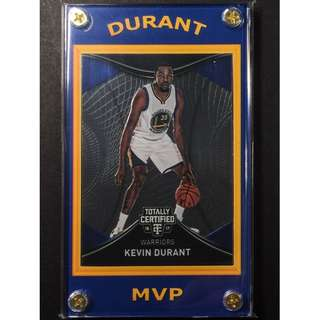 Kevin Durant Refractor Sports Card - NBA MVP