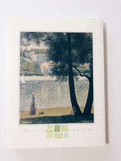 Neo-Impressionism book bought in Japan Art Museum
