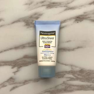 Neutrogena Ultra Sheer Dry-Touch Sunscreen (15ml)