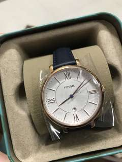 FOSSIL Jacqueline White Dial Ladies Watch