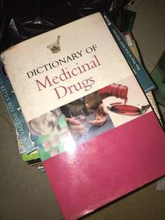 2 books for price of 1 (Dictionary of Medicinal Drugs + Drug Handbook)