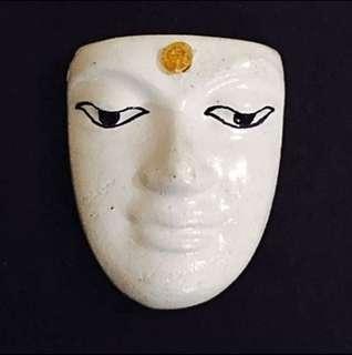 Lp Somchai Handmade Buddha Mask Amulet