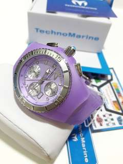 Original Technomarine Cruise JellyFish Purple Watch