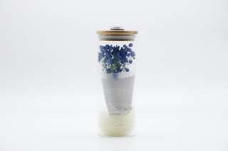 Preserved Baby Breath with light above