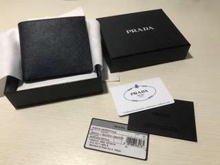 Authentic Brand New Prada Men's Wallet 2MO513