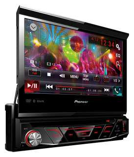Genuine 1-Din PIONEER HeadUnit AVH-4850BT In Dash 7inch Touchscreen LCD Full Color Multimedia Player