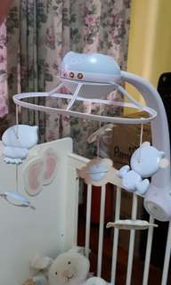 3 in 1 Projector musical - Crib sleeping music & light crib toy display