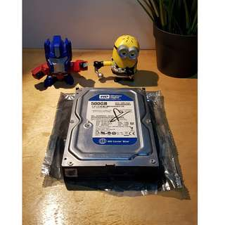 Harddsik WD Caviar Blue PC 500GB - WD5000AAKX