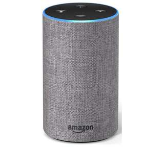 Amazon Echo - Alexa Heather Grey 2nd Gen