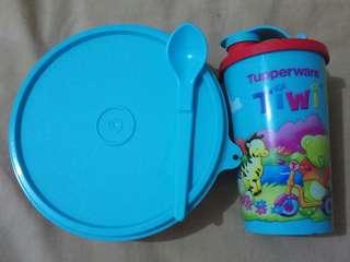 Satu set tupperware