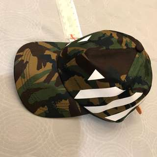 Off-white camouflage 🧢 cap