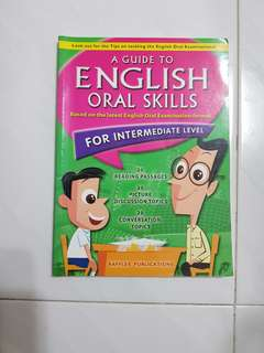 Raffles Publication Guilde to English oral skills Intermediate level