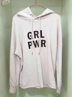 [NETT PRICE] h&m grl pwr hoodie