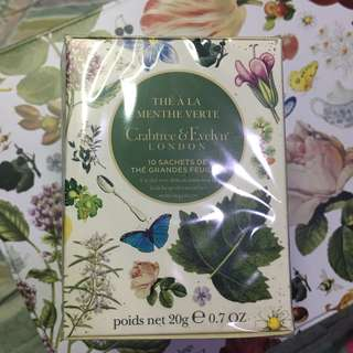 Crabtree & Evelyn Green Mint Tea 薄荷綠茶包