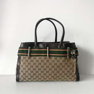 Authentic Gucci Shoulder Tote Bag