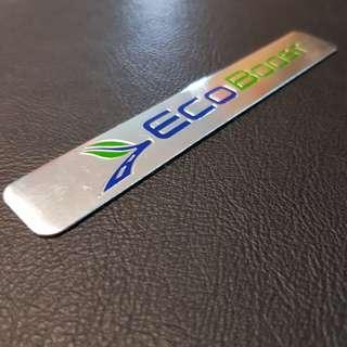 Ford EcoBoost Emblem Logo