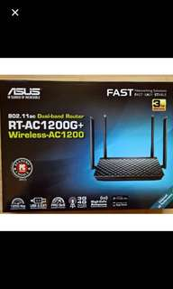 Brand New ASUS RT-AC1200G+ Wireless Router Internet Fibre Broadband Fast