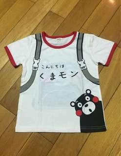 🚚 熊本熊背包造型棉T