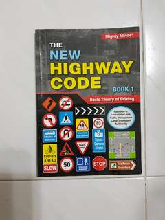 Highway code - Basic Theory of driving Book 1