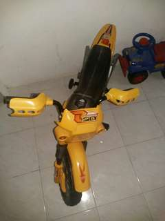 Motorcyle battery operated