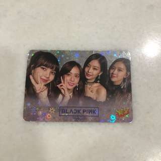 Blackpink Shining Photocard