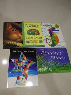 Eric Carle and others Books (5 books)