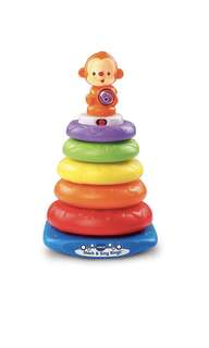 ~Ready Stocked~ VTech Stack & Sing Rings (Frustration Free Packaging