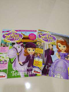 Sofia the first activity book
