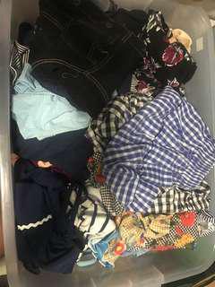 Bundled New Clothes