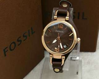 Fossil Ladies Leather Watch