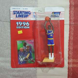 "Legit Brand New Sealed NBA Kenner Starting Lineup 6"" Joe Smith Golden State Warriors Toy Figure"