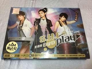 S.H.E Play 影音馆 DVD
