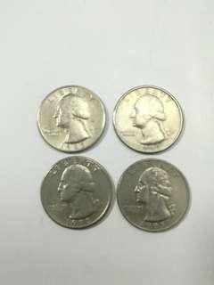 美元QUARTER DOLLAR