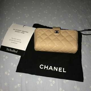 CHANEL WALLET CARD HOLDER AUTHENTIC