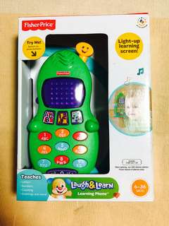~Ready Stocked~ Fisher-Price Laugh and Learn Phone