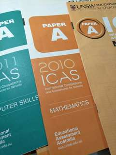 🚚 Original ICAS Paper A Maths (Partially done)