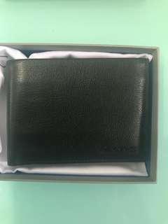 CK Calvin Klein wallet black NEW with receipt