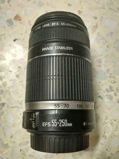 Canon EF-S 55-250mm IS