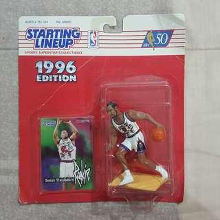 "Legit Brand New Sealed NBA Kenner Starting Lineup 6"" Damon Stoudamire Toronto Raptors Toy Figure"