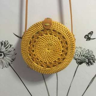 Brandnew Round Rattan Bags from Balin