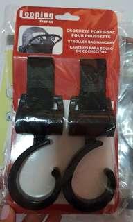 Looping Stroller Bag Hangers
