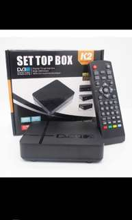 DVB T2 Set Top Box Full HD