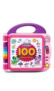 ~Ready Stocked~ Leapfrog Scout and Violet 100 Words Book