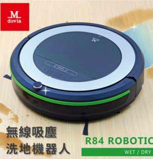 美國Mdovia R84 全程自動 無線吸塵 / 洗地機 機器人