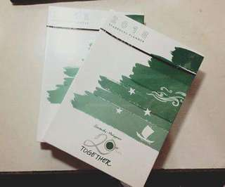 Starbucks Planners - Green